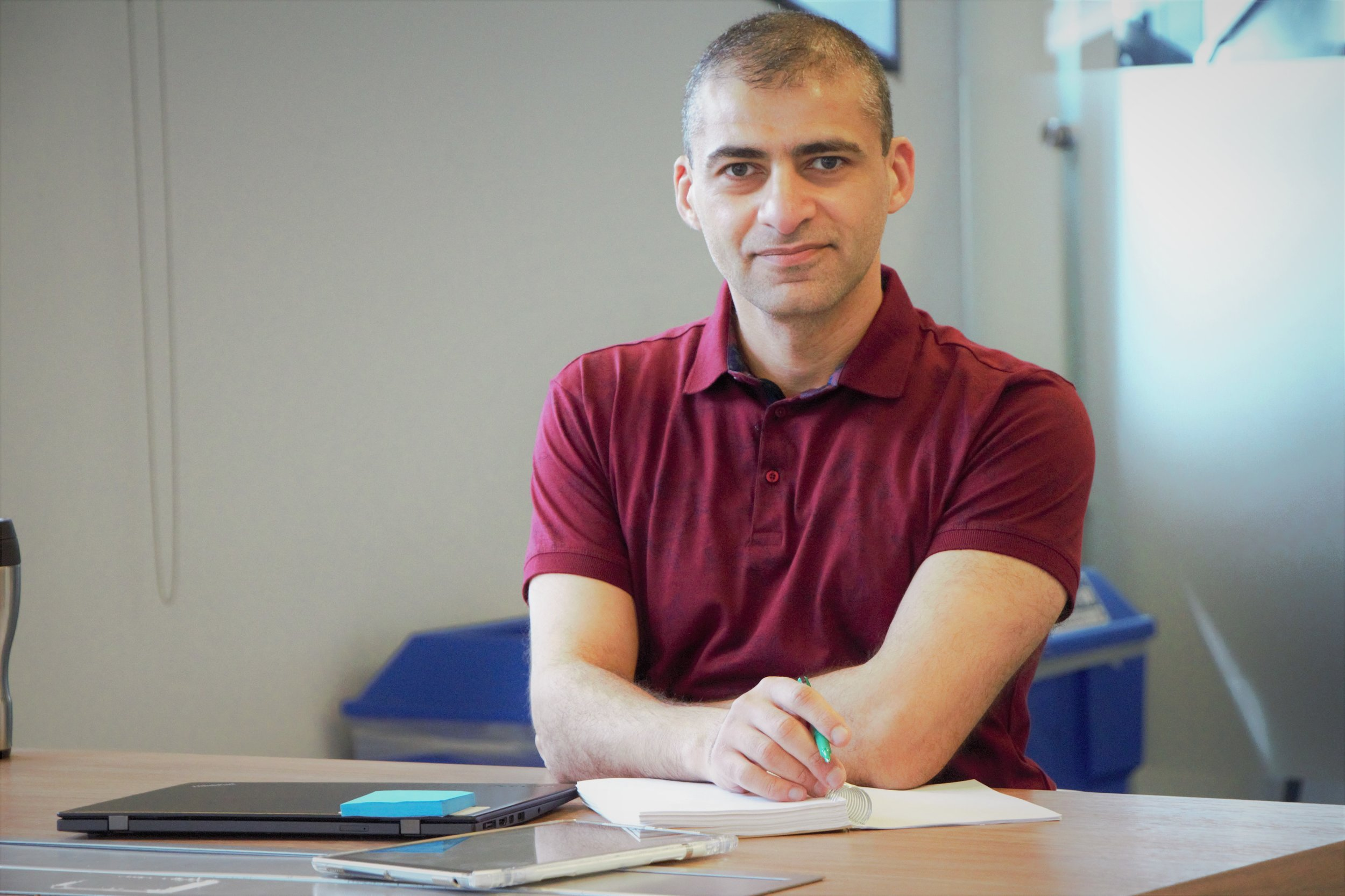 SAMY ELIAS - Dept. Of Electrical Engineering & Computer ScienceSupervisor: Afshin Rezaei-ZareAward: LURABio: Samy Elias is a 3rd year student at Lassonde School of Engineering at York University. Having specialized in Electrical Engineering, Sam is spending the summer exploring the dynamic force on distribution generation connection (DG)connection, in high-voltage substations. Using Matlab, and of course, mathematical models which represent the physics of the problem, Sam will be implementing Dr. Rezaei's approach in solving for the force which the DG connections experience during a short circuit fault. By the end of the summer, Sam is hoping to represent a complete code, which will calculate that force, for the expected given parameters. That force is an important parameter in the construction and operation of the substations.