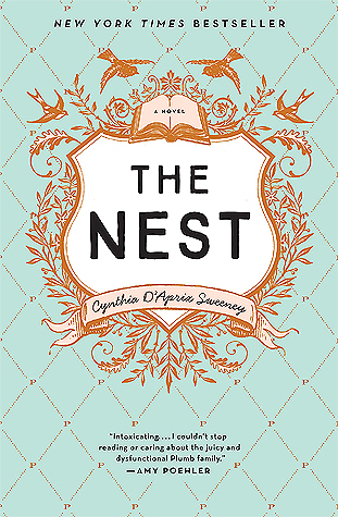All the feels. ALL THE FEELS. My emotions were all over the place while reading THE NEST. I was so invested in these crazy, flawed characters. Also, loved the shout-out to my hometown in the book.