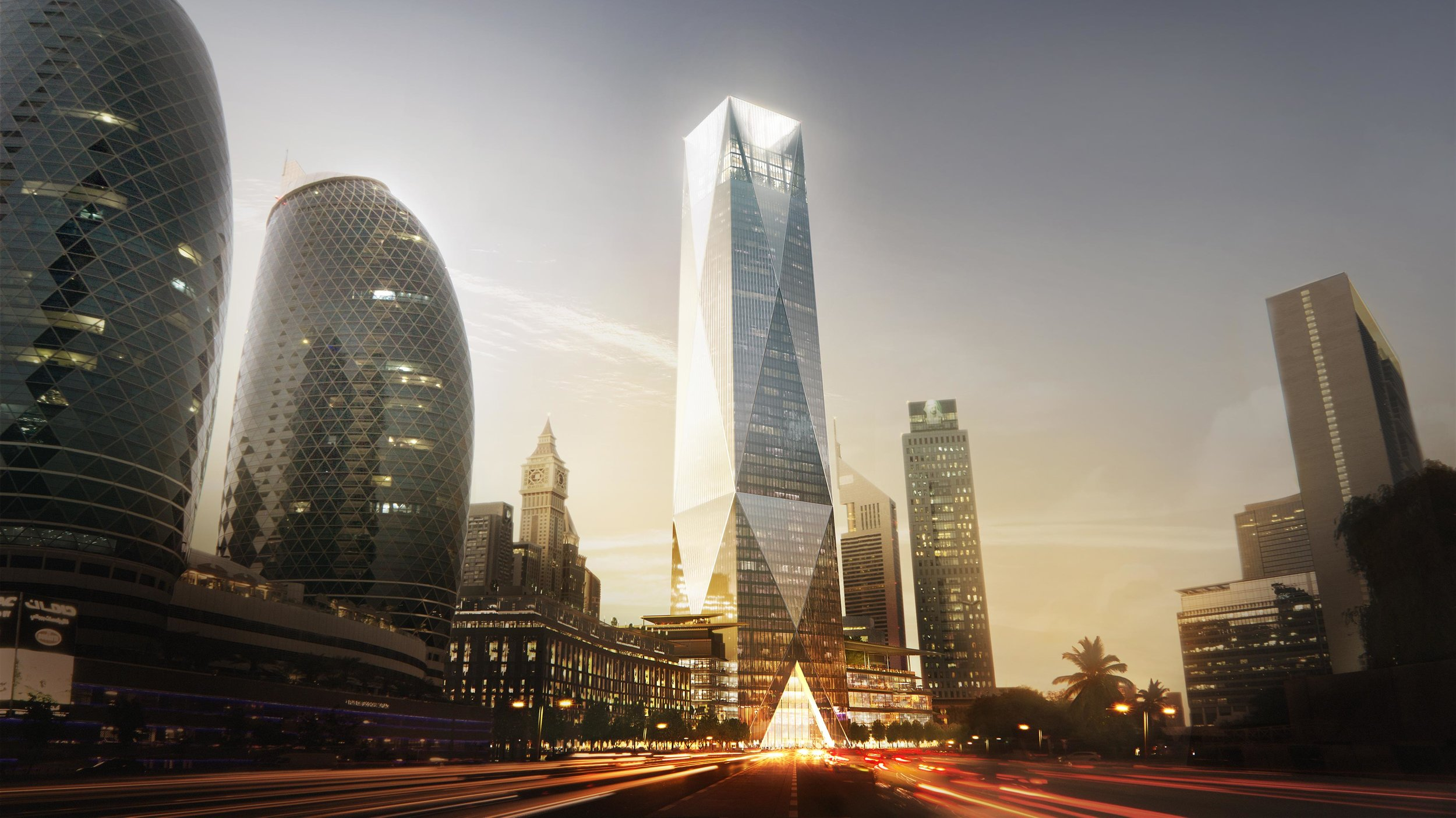 Foster + Partners ICD Brookfield Place UAE