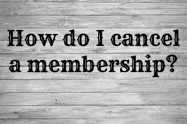 At CrossFit Bury we ask that athletes give us a month's notice to cancel their membership.