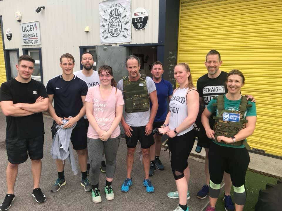 CrossFit Bury Murph2019 6am