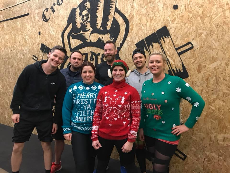 crossfit bury xmas jumper