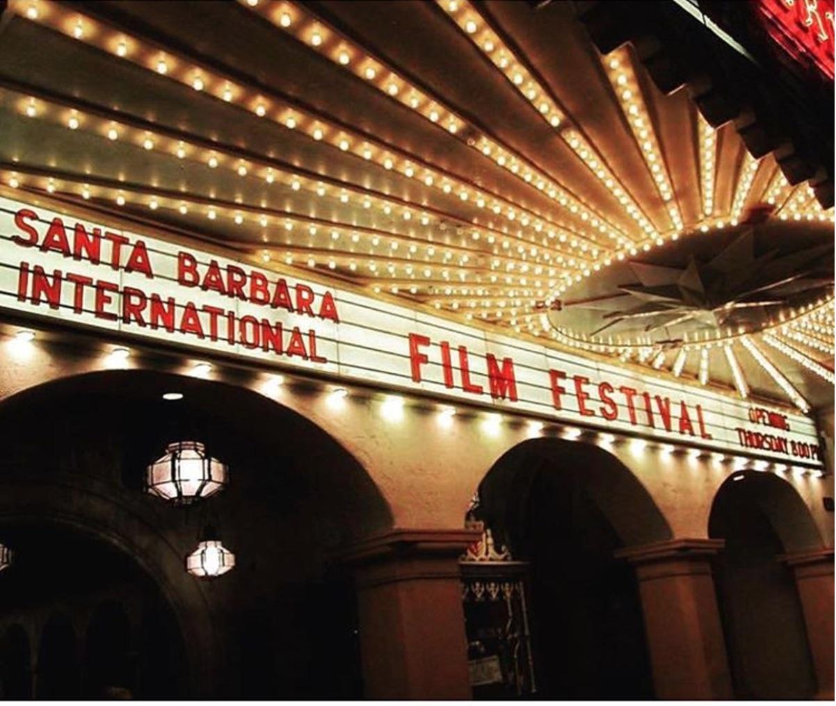 Image: Arlington Theater hosts the Santa Barbara Film Festival | Photo credit Santa Barbara Magazine