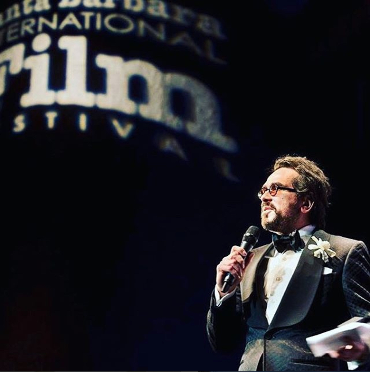 Image: Opening night of the Santa Barbabra International Film Festival - Photo by  Fritz Olenberger.