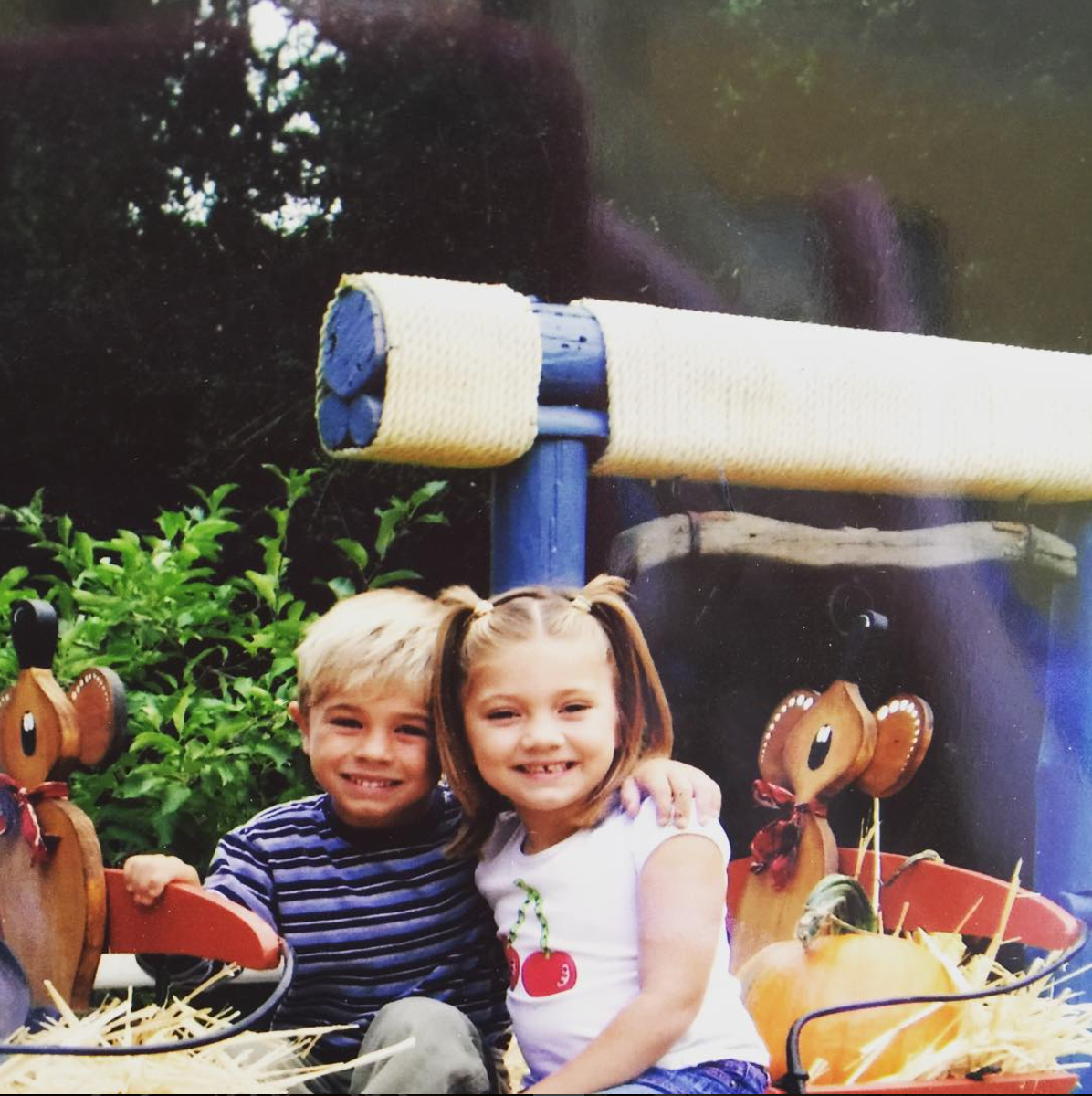 Matthew and Taylor, our beautiful children when they were younger.