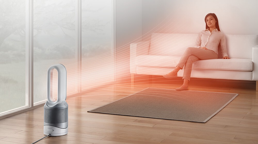 Dyson's Pure Hot+Cool Link not only heats and cools; it cleanses the air around it. | Source:  Dyson  site