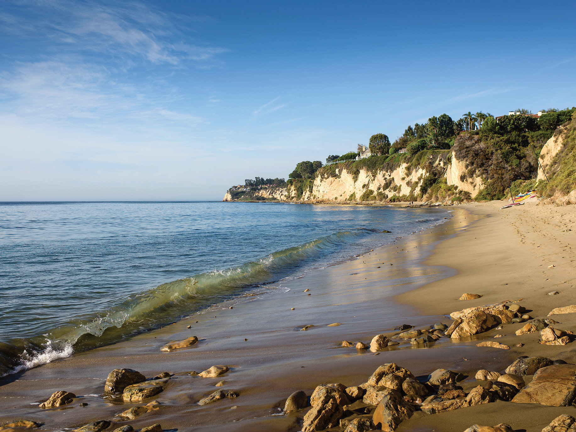 Malibu and the Hamptons have something in common, million-dollar views, billion-dollar residents and a location on one of the world's most iconic beaches.  Image  | New York Times Style Magazine