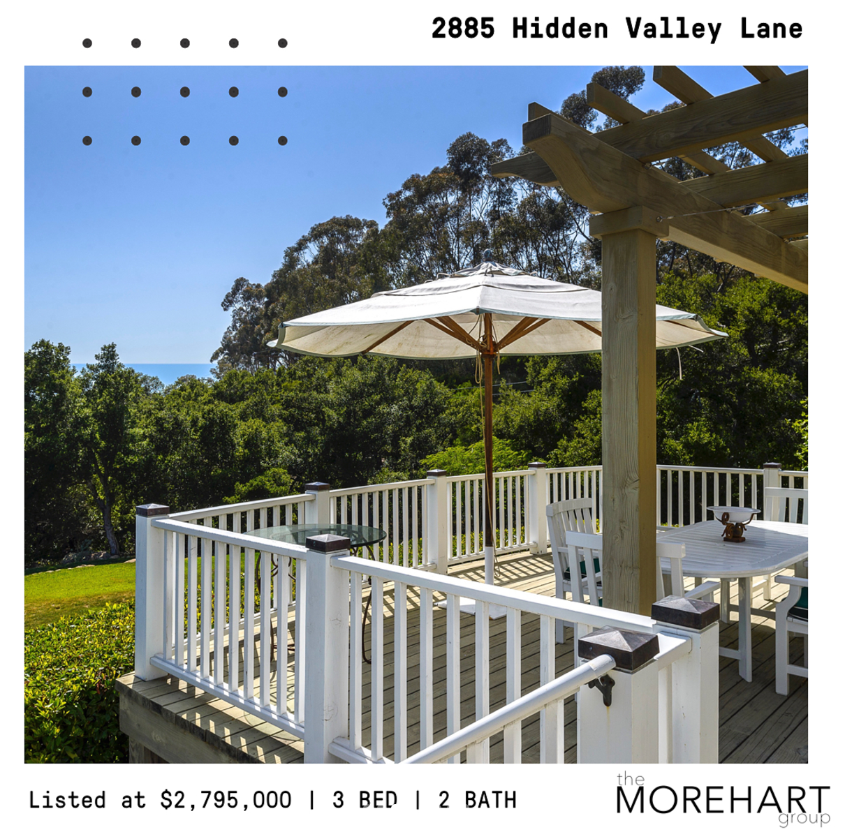 2885 Hidden Valley Lane - SOLD - Montecito Lifestyle