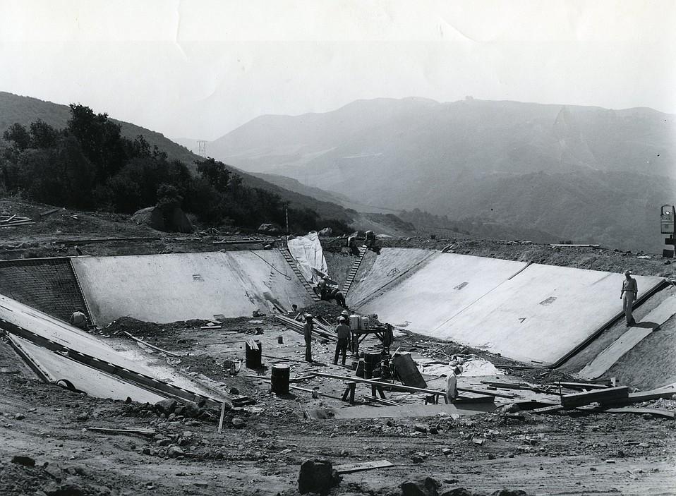 Bradbury Dam :: Lake Cachuma