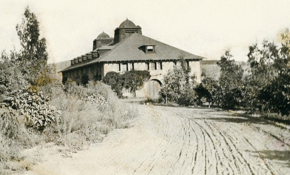 Crocker Home   Image: Santa Barbara Historical Museum