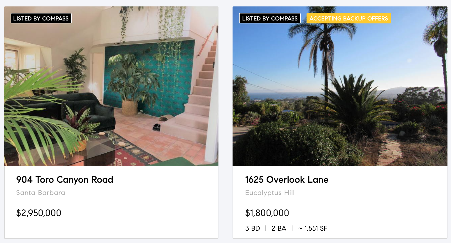 Montecito Estates, Santa Barbara Properties
