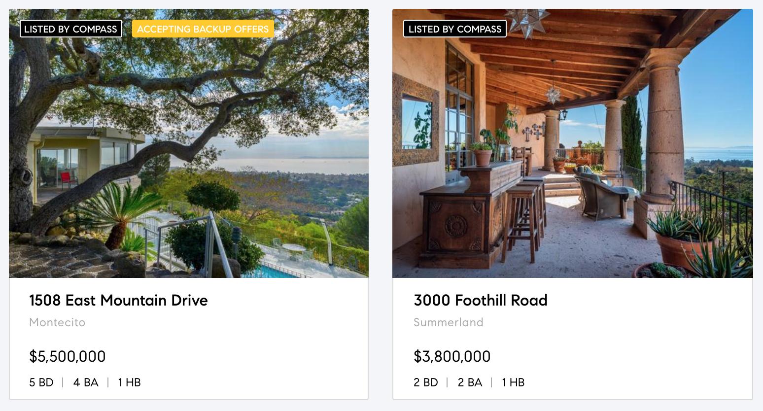Montecito Estates, Santa Barbara Properties