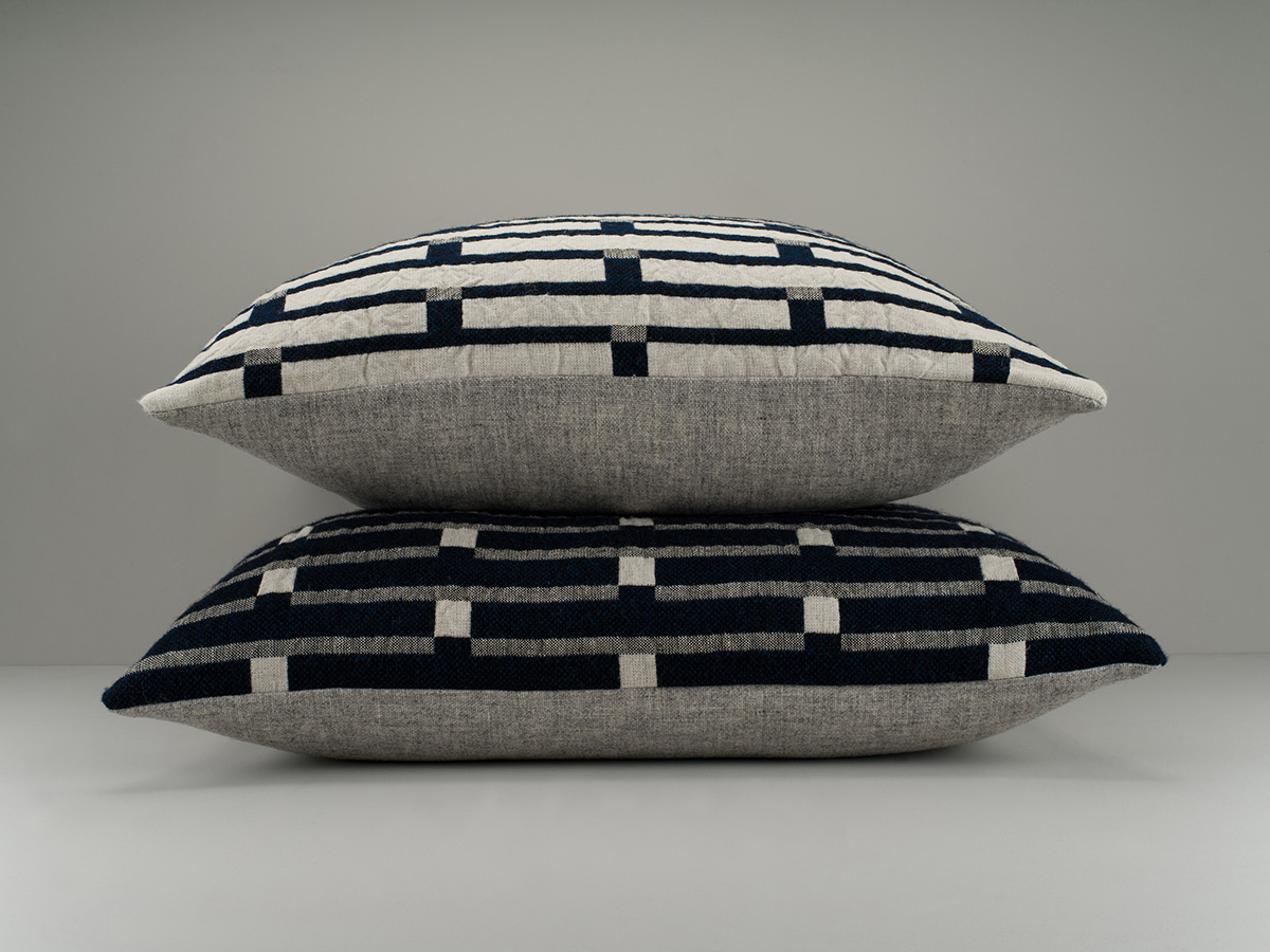 Eleanor Pritchard - Broadchalke cushions (Chalk face and Ink face) website - photo Jeremy Johns.jpg