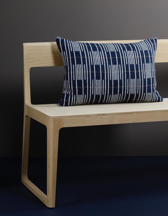 Eleanor Pritchard - Isokon Portsmouth bench with Signal cushion - photo by Elliott Denny.jpg