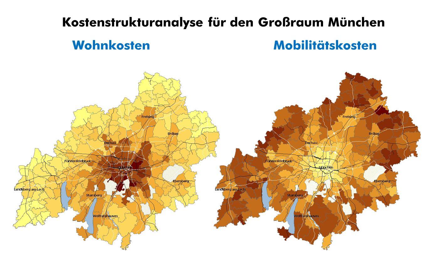 """Quelle: Eigene Berechnungen im Rahmen des Projekts """"Siedlungsentwicklung und Mobilität"""""""
