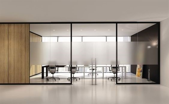 privacy film/frosted - Starting at $xxxxPrivacy film can be used for glass doors and panels to create some privacy while maintaining a modern look and natural light in the space.
