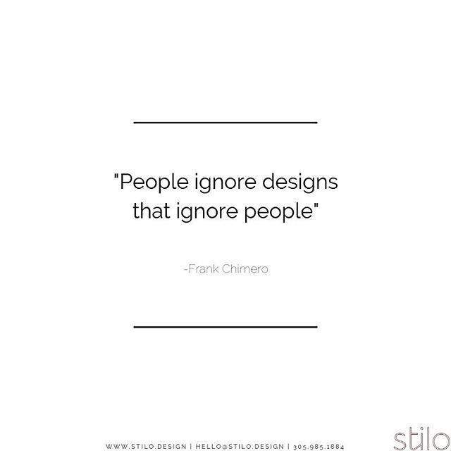 We cannot be selfish and design according to only our personal likes and dislikes. To us, design is all about YOU. It is easy to make something beautiful but is it functional for your specific needs? #foodforthought . . . #mondayquotes #stilomiami #stilo #livinginstilo #interiordesign #mondaymood #stiloquote #quoteoftheday #designwithpurpose #stilodesign
