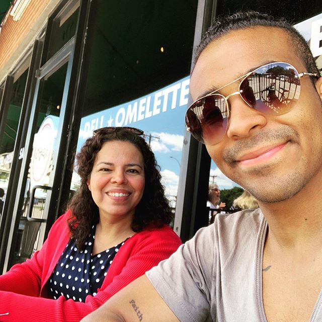 So this is moms. She's supported every single artistic endeavor I've ever tried. Even the not so great ones (looking at you flute) 😅. She's one of the most optimistic people on the planet, and has believed in me for me when it was hard for me to see how in the world I could move forward. She's my lighthouse. She is the meaning underneath all of my pieces. She's the cheer I hear on every single stage I touch. We also have our own exclusive book club, it's dope 😌. I get my drive from my mother, who's always down for the next life adventure. Thank you mom for your light, for the joy and love you pour into my life. For the hope you planted in my heart since before I could speak. I love you, and I'm so grateful to be your son. #mothersday #grateful