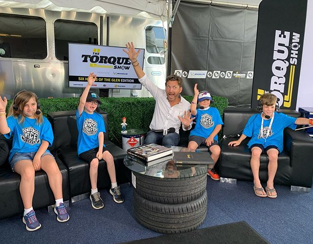 Who's excited for IMSA at @limerockpark in 5 days?! 🙋‍♀️🙋‍♂️ . #raceday #wherekidsfinishfirst #experientialtherapy #wherewinnershang #torqueshowlive #bestboardmembersever