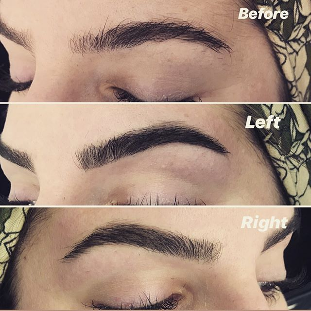 Brow Wax & Tint for these beautiful brows! 💖💖 • • #brows #eyebrows #browwaxing #browtint #browart #sugaring #tinting #refectocilbrows #refectocil #hennabrows #clevelandlashes #clevelandbrows #rockyriversalon #nova #novalash #polished #mondaymotivation #clevelandbeautypros