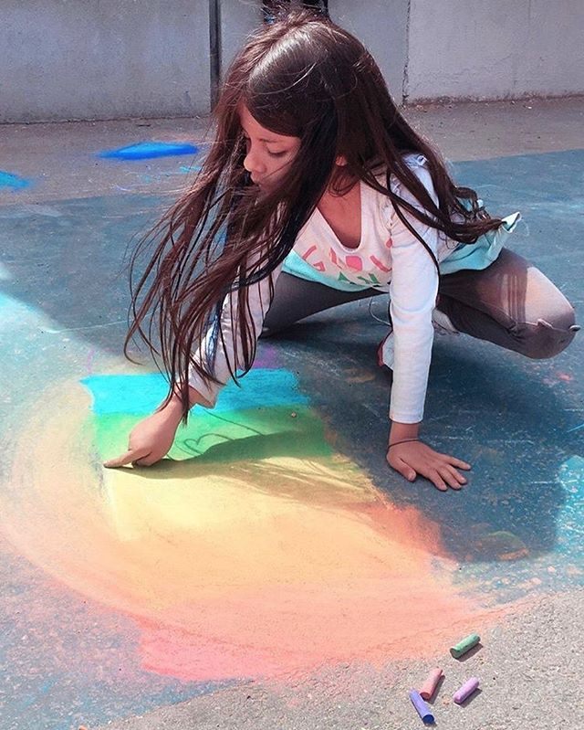 Rainbow Play ☀️🌈 #summerplay #sanfrancisco #latinoeducation #missiondistrict