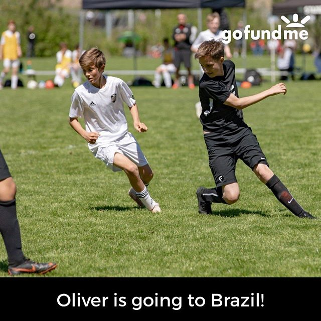 Oliver has a really exciting opportunity to travel to Brazil with his Club Team (ADF) to train and play at Fluminense FC - a huge club in Rio de Janeiro.  This is the third year he has played with ADF, and he has been invited to play with their travelling squad.  He has already earned part of the money he needs for the trip - and he is working hard to earn some more.  He is available to wash cars, mow lawns, pull weeds, walk dogs, help clean out garages - basically any odd job.  Please message me if you have any tasks that he can help you with around your house!  He does, however, need a little help :-). In addition, he has set up this GoFundMe - anything you can contribute is hugely appreciated! Link in bio 😊 ⚽️ 🥅