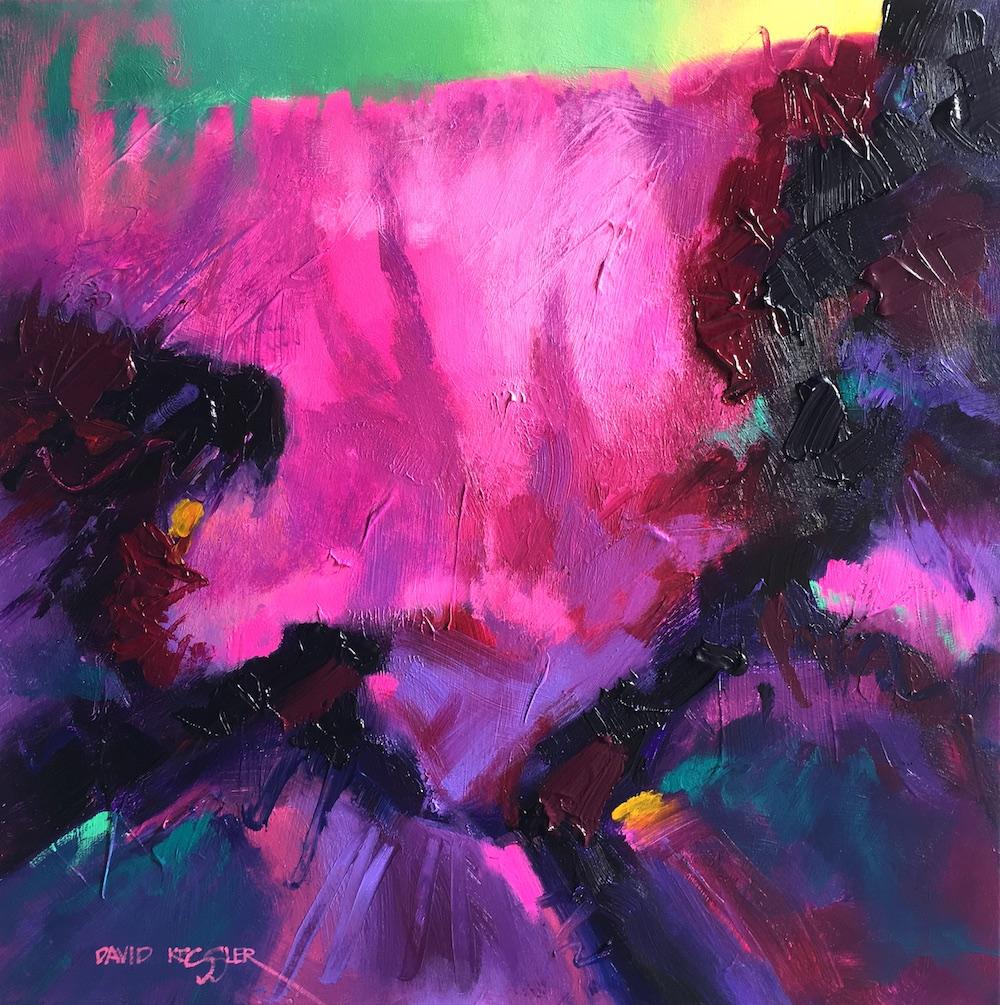 """Morning"" 30x30 Acrylic on Canvas"