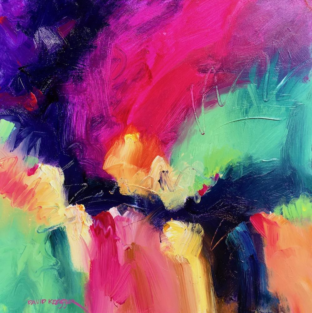 """Spice of Life"" 30x30 Acrylic on Canvas"