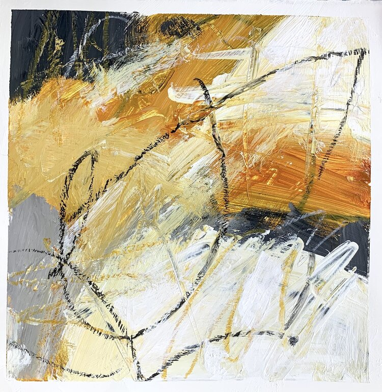 Abstract Painting Abstract Art on Paper