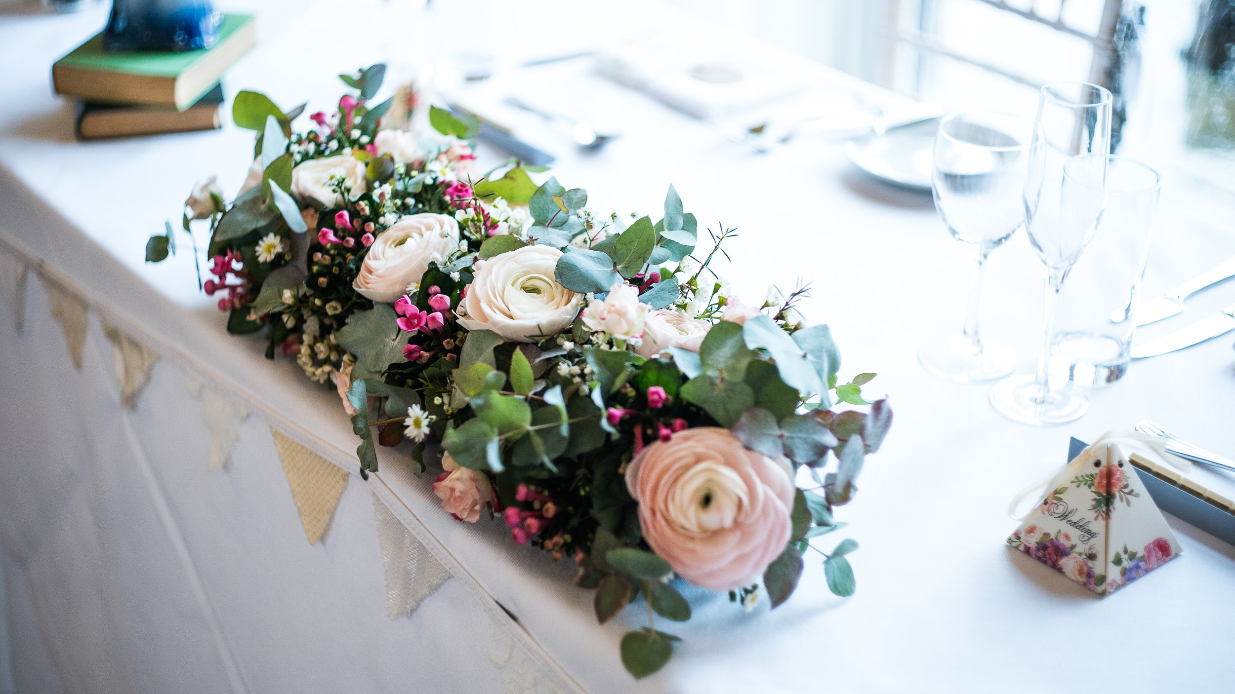 Flowers by Creative Rally |Photography by Mauricio Gris | Venue: Long Furlong Barn, West Sussex