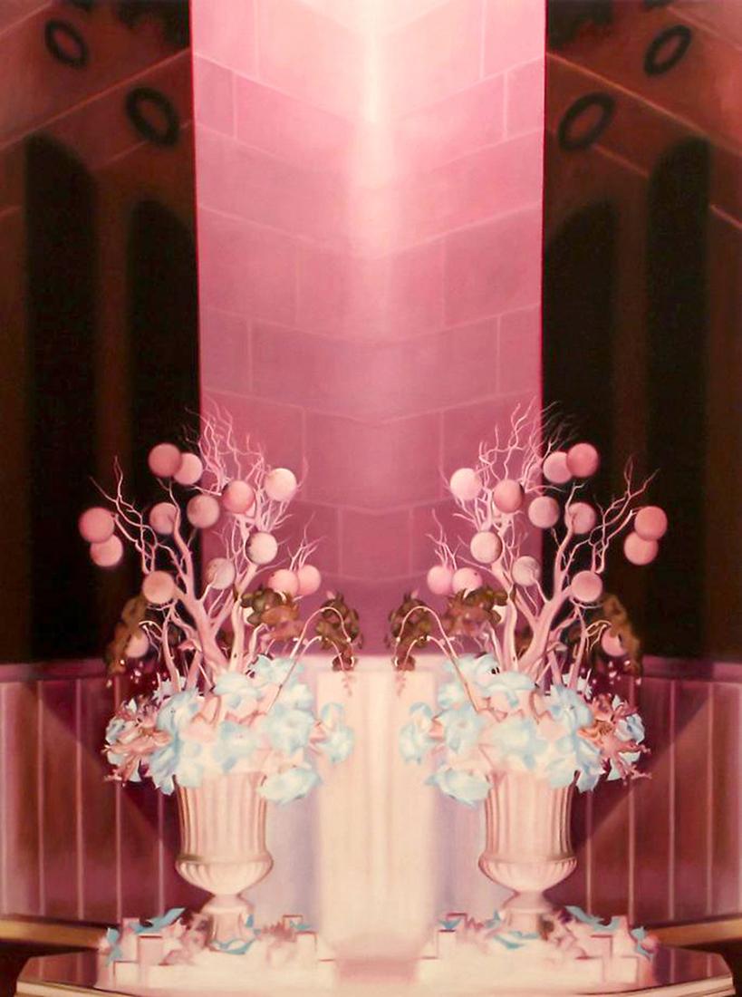 "Dark Bloom    Oil on panel  40"" x 30""  2013"