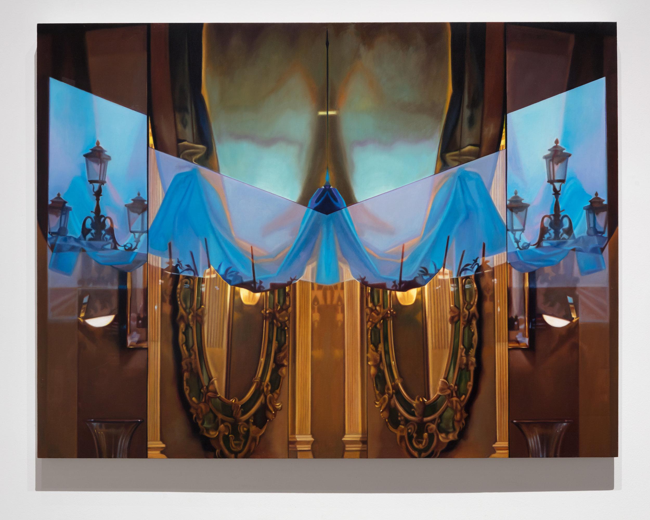 "New Venice Window    Oil on linen over panel  36"" x 48""  2015"