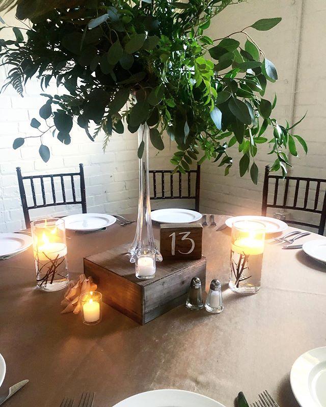 It's all in the #details... like wood block table numbers 😍😍😍 . . . . #southernwedding #realwedding #weddingdetails #iloveweddings #raleighwedding #raleighnc #carync #durhamnc #weddingsigns #wedding #weddingdecor #DIYwedding