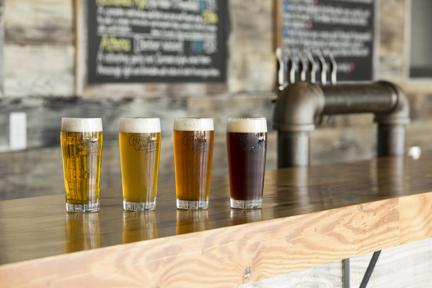 Beer Dinner at Kitchen Six with Creature Comforts