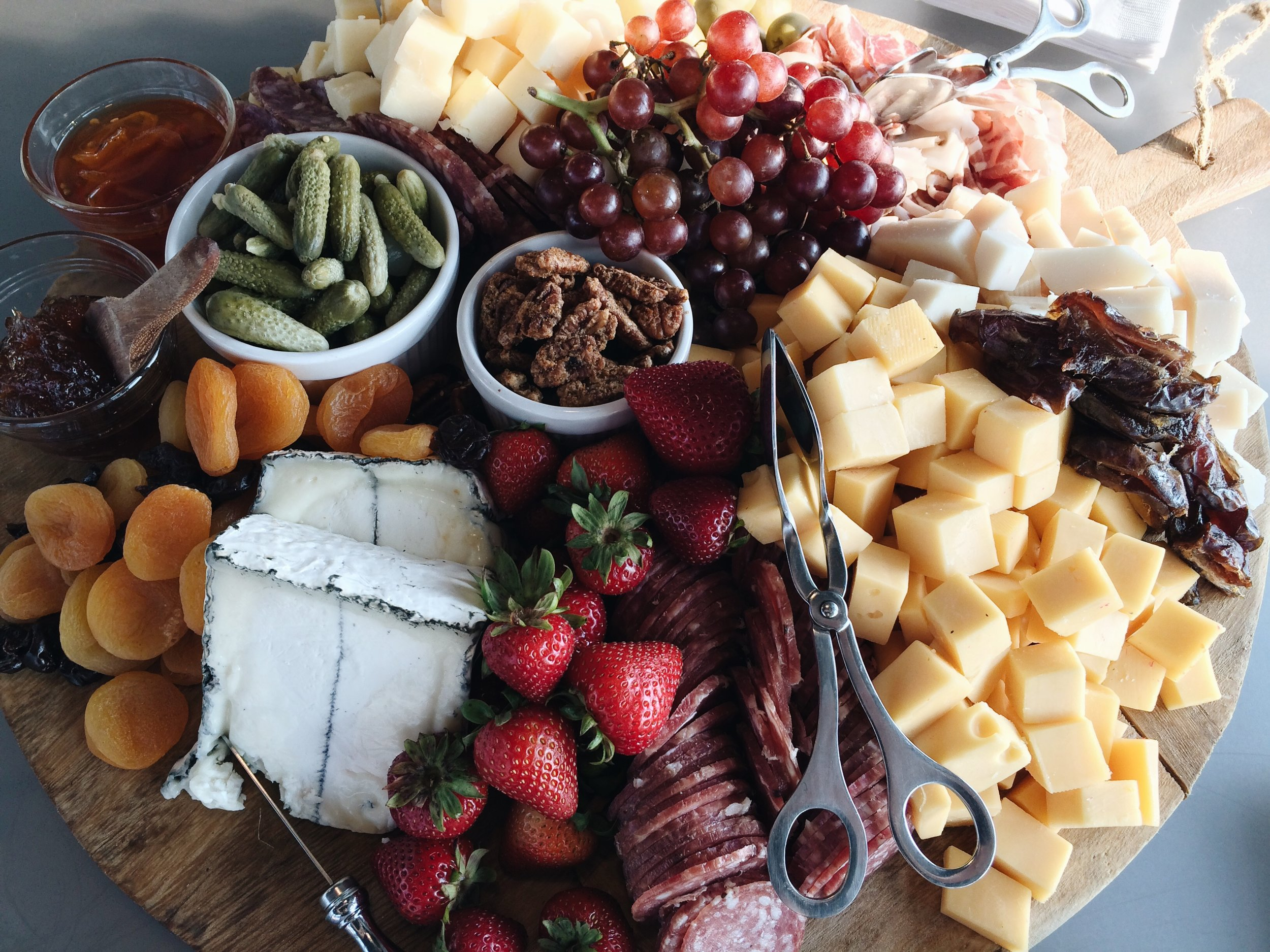 Homespun ATL Boutique Chef Services and Catering | Meat and Cheese Board