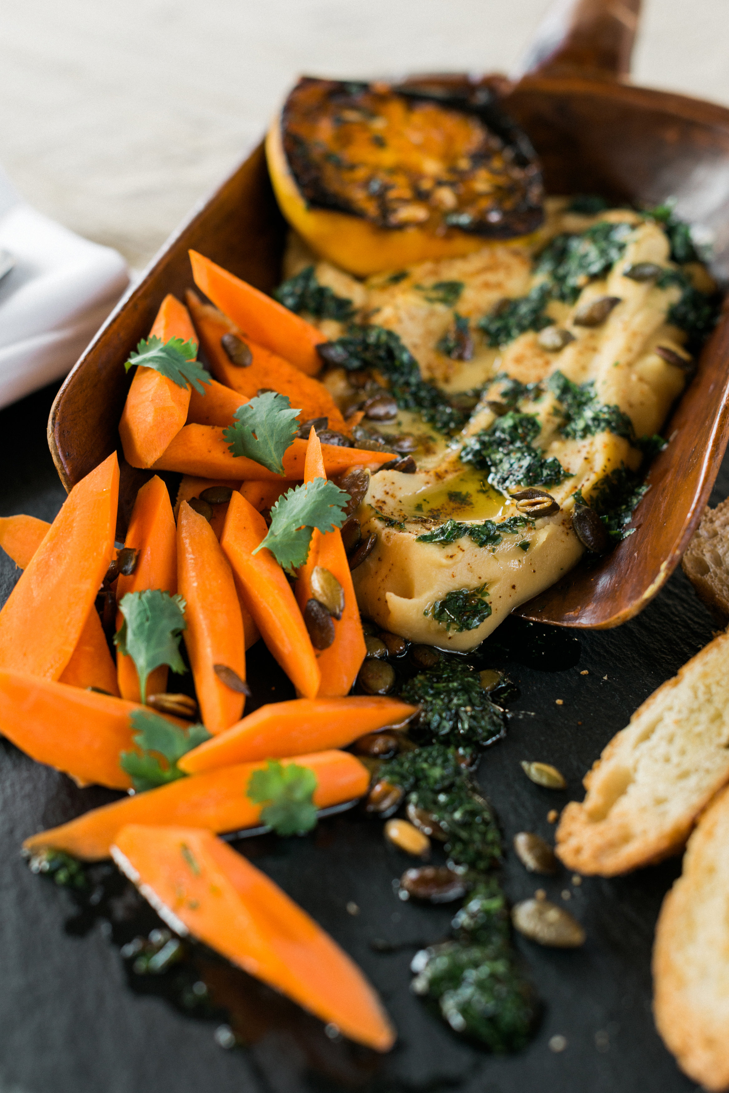 Homespun Atlanta Boutique Chef and Catering Services | Butternut Squash Hummus.jpg
