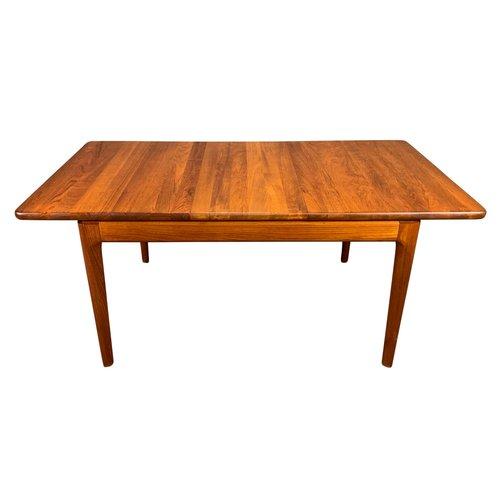 6 Seater Dark Teak Wood Kitchen Dining Table Chair Set Modern High