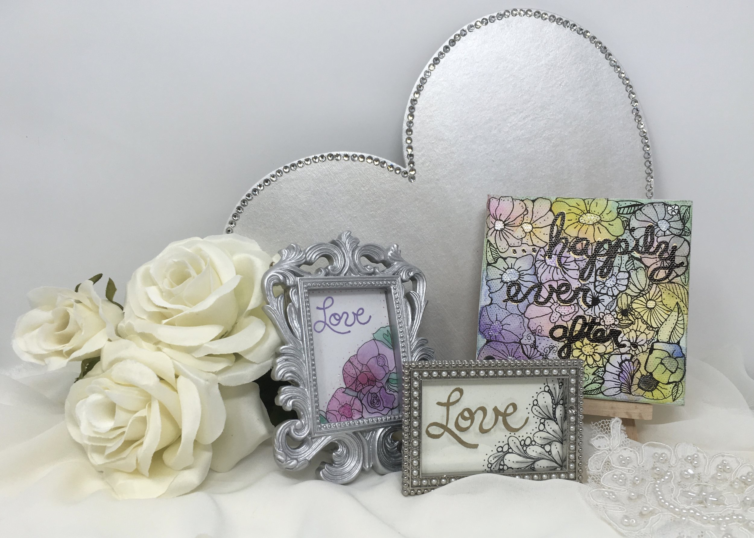 Mini-Monets! - Create small art pieces using a variety of paints and markers! Choose from mini canvases, mini-framed art, cards, ornaments, and magnets!
