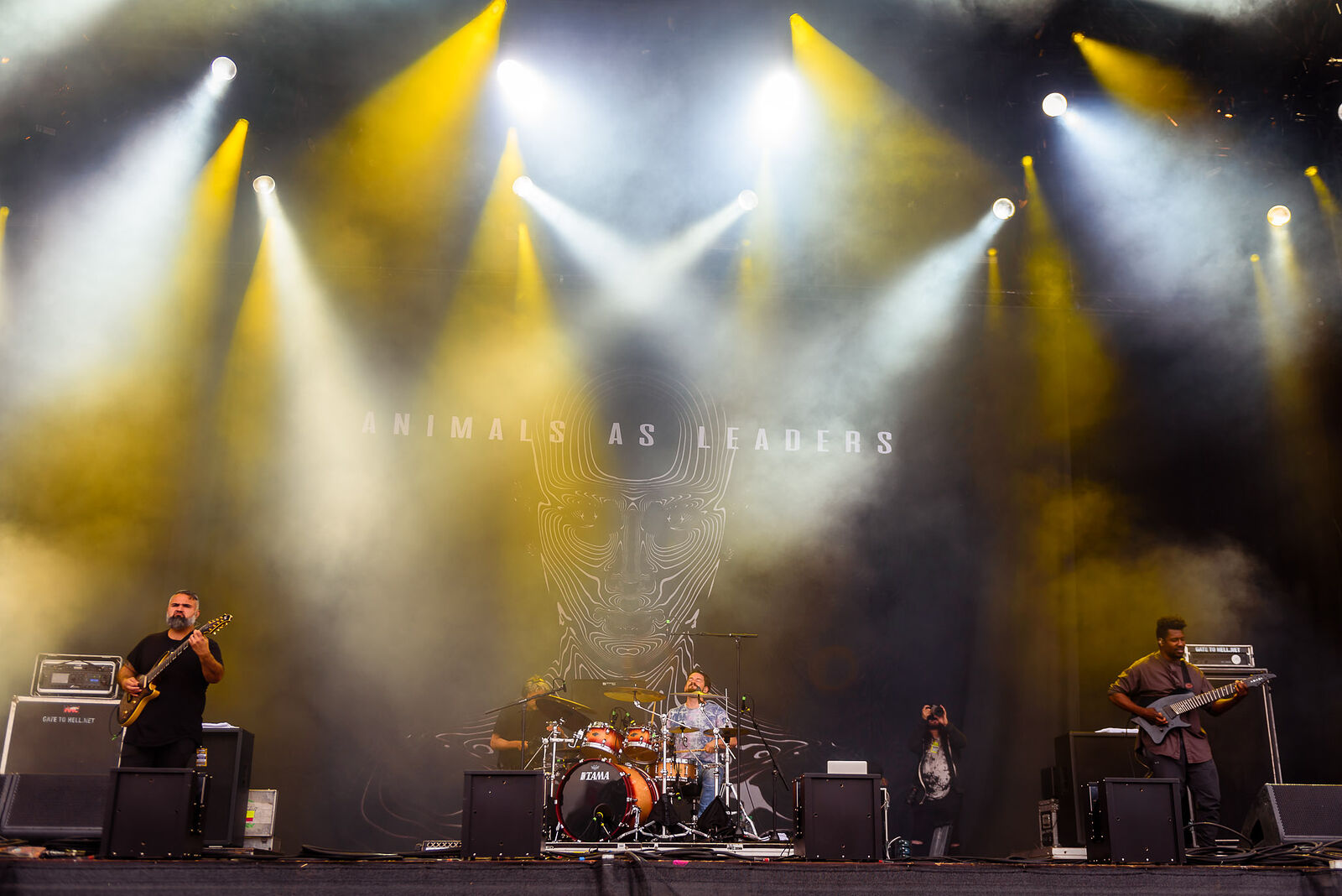 Animals As Leaders © 2019 David Dillon, c/o Download