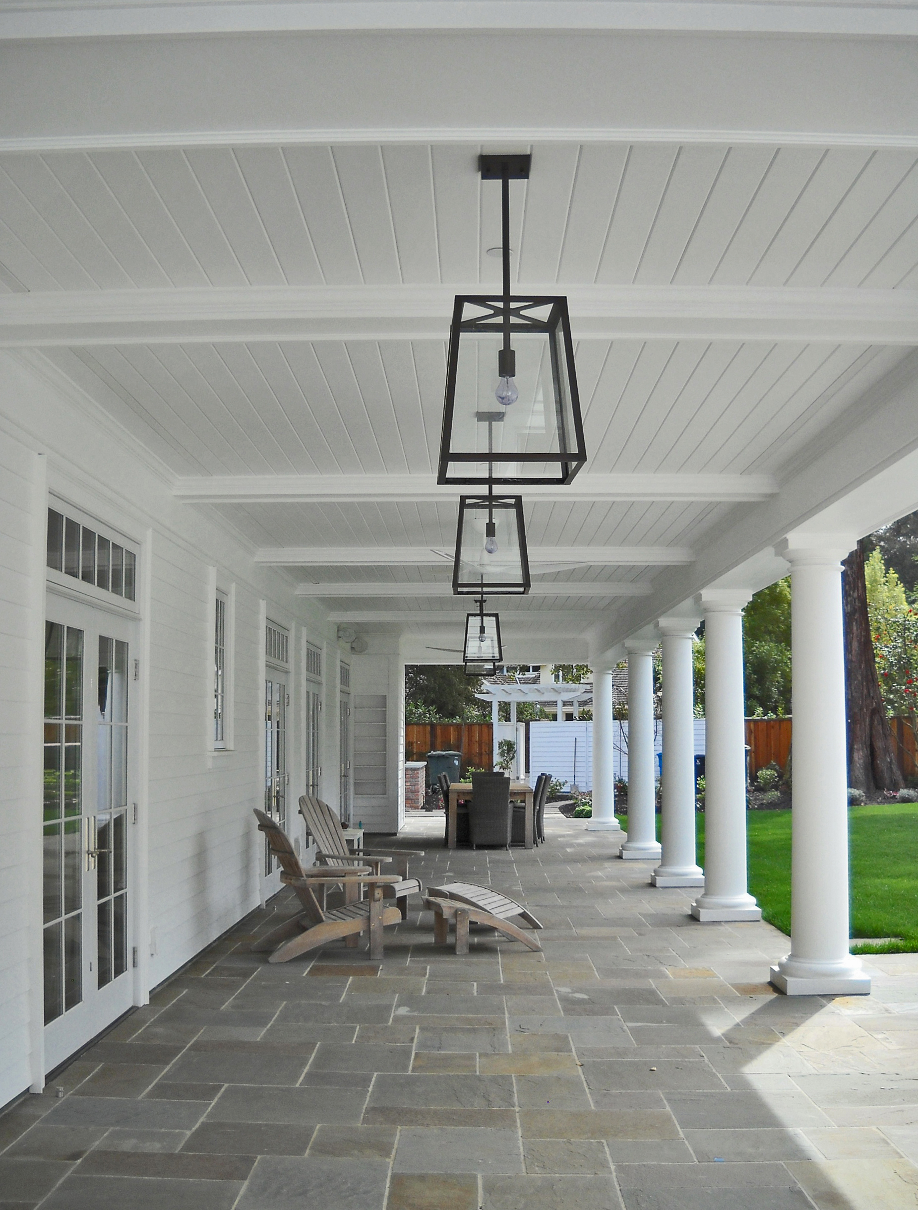 COLONIAL GUEST HOUSE AND GARAGE