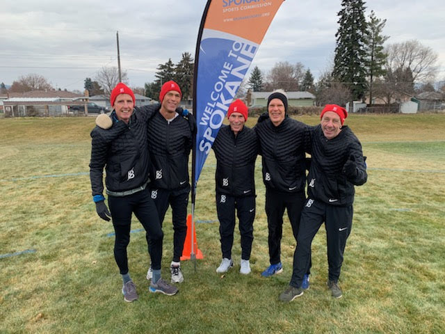 2018 XC Club Nationals 60's Team