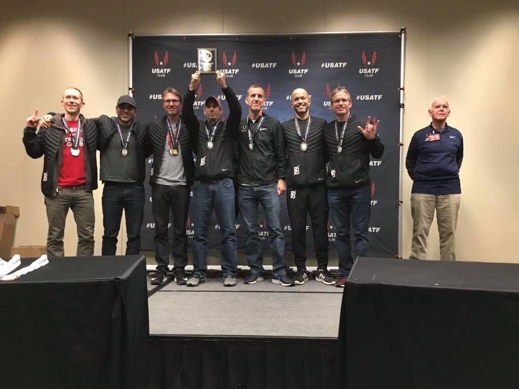 2018 XC Club Nationals 40's Champions