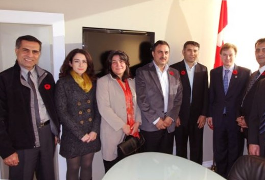 A meeting with Member of parliament from North Vancouver, MP, Andrew Saxton