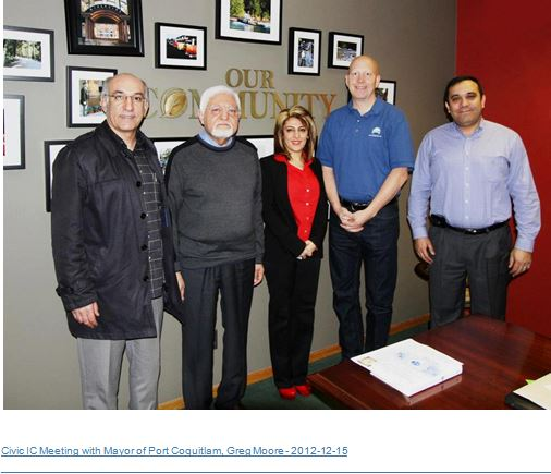 Meeting with Mayor of Port Coquitlam