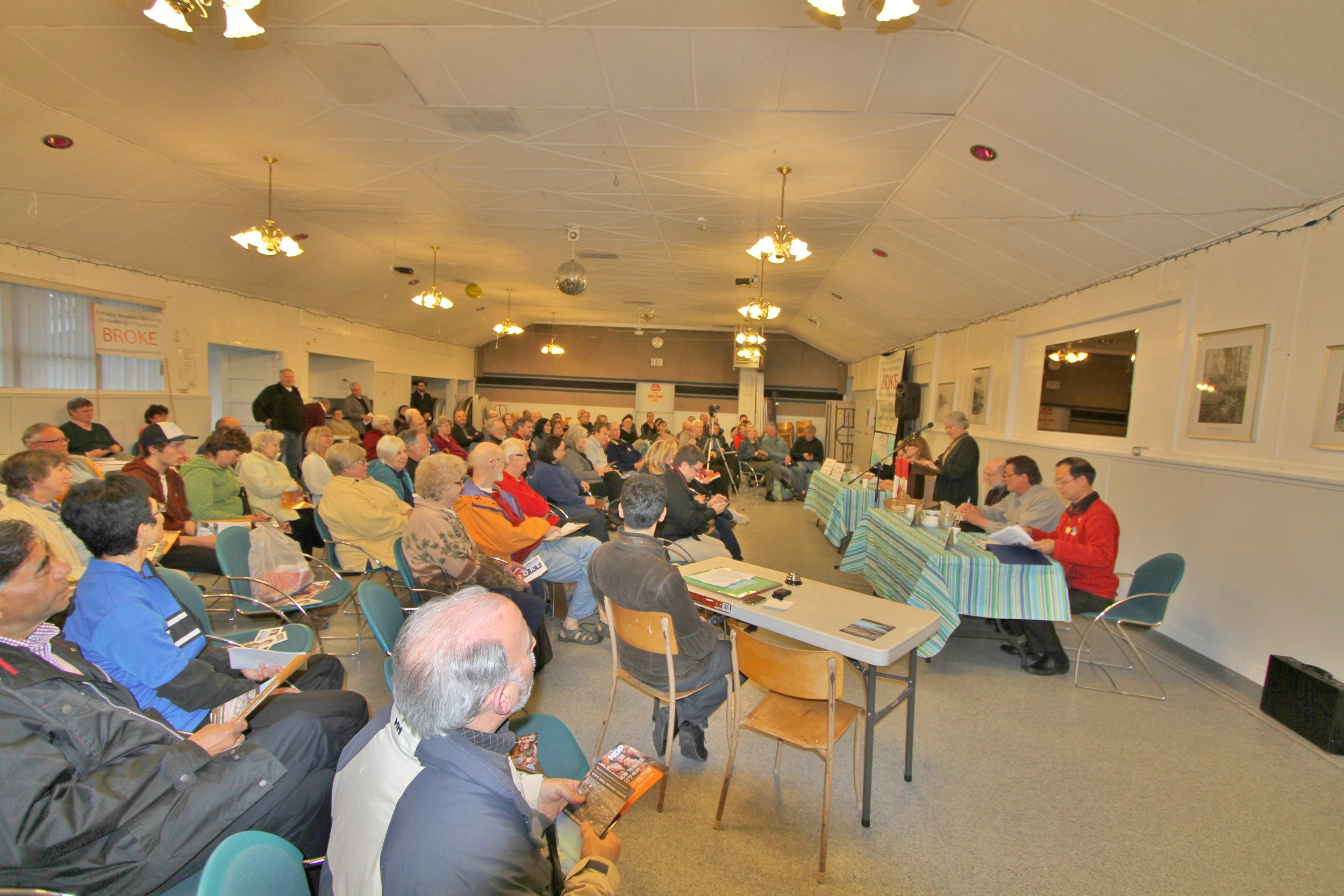 Burnaby All Candidates Meeting, Provincial Election