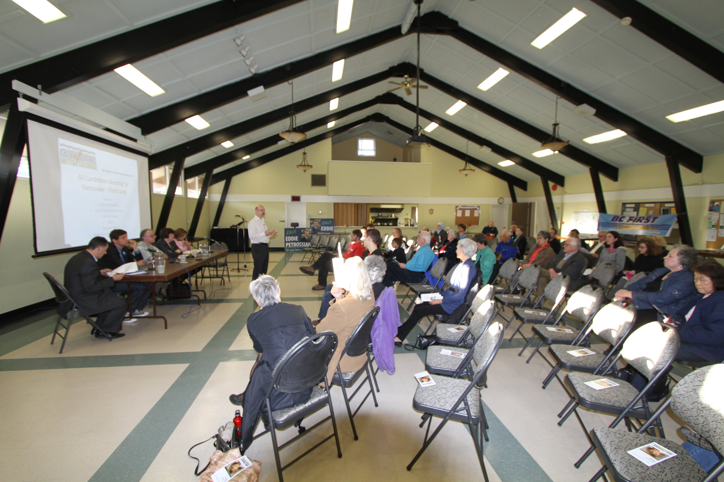 Point Gray, All Candidates Meeting, Provincial Election