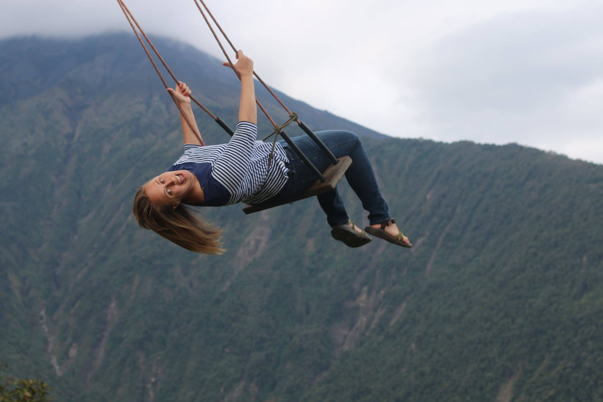 Adventure on. Swing at the end of the world. Volunteer with Orphanage Support Services Organization.jpg