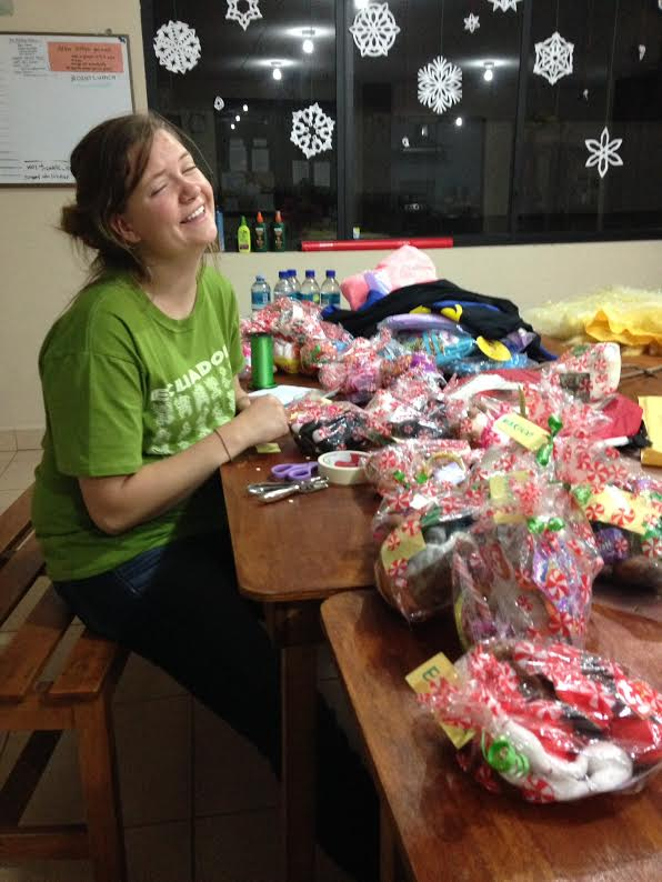 Donations for the orphans on Christmas