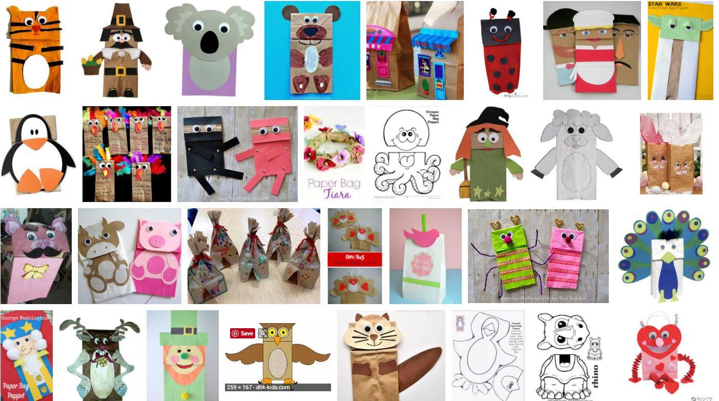 Paper bag crafts.JPG