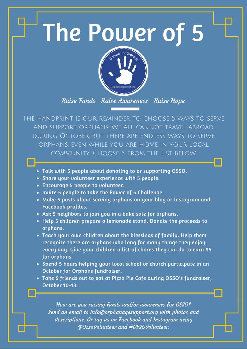 Help orphans in Ecuador and Thailand.